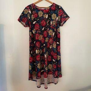 Lularoe High Low Floral Dress